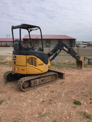 John Deere 27d Mini Excavator 1306 Hrs photo