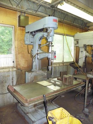 Allen Single Spindle Heavy Duty Variable Speed Drill Press photo