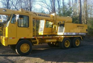 1998 Gradall Xl 4100 Excavator,  Grader,  Dozer,  Digger,  Loader,  Backhoe. photo