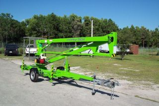 Nifty Tm34m 40 Ft Towable Boom Lift,  Honda Power,  2016s In Stock In Fl photo