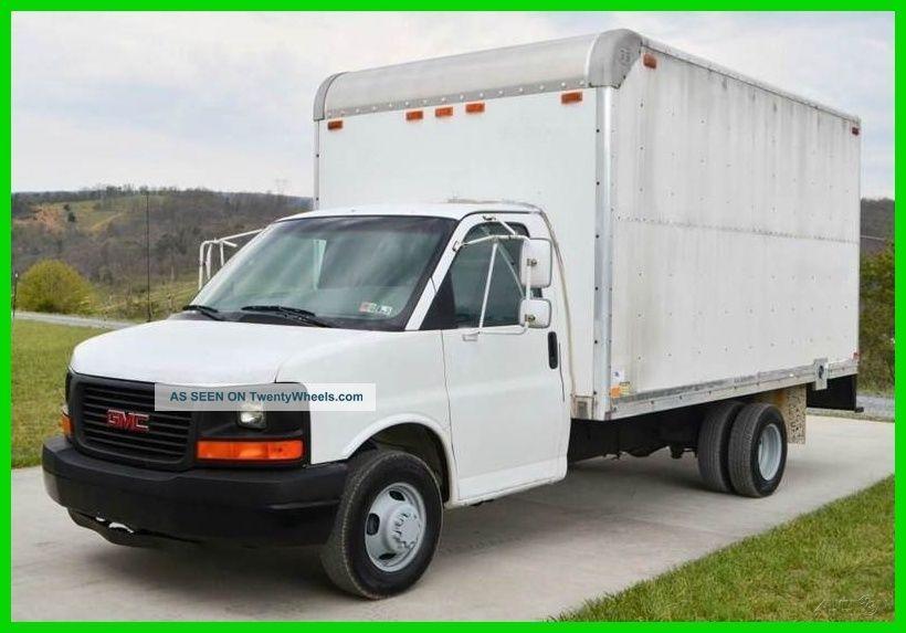 2003 Gmc Savana 3500 14ft Box Truck Box Trucks / Cube Vans photo