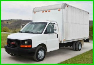 2003 Gmc Savana 3500 14ft Box Truck photo