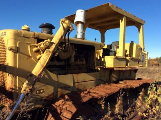 Cat Caterpillar D8h Dozer Bulldozer D8 V - Blade photo