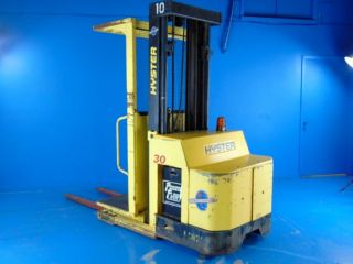 Hyster R30es Order Picker & Charger.  Sold Without Battery From Plant Closure photo