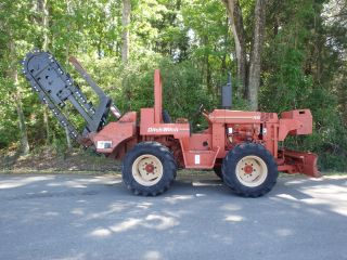 1999 Ditch Witch 7610 Trencher Very And Tight,  Dirt Digging Chain photo