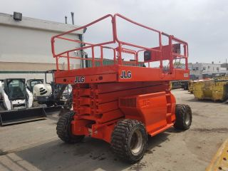2007 Jlg 4394rt Scissor Lift 1700hrs 4wd Diesel photo