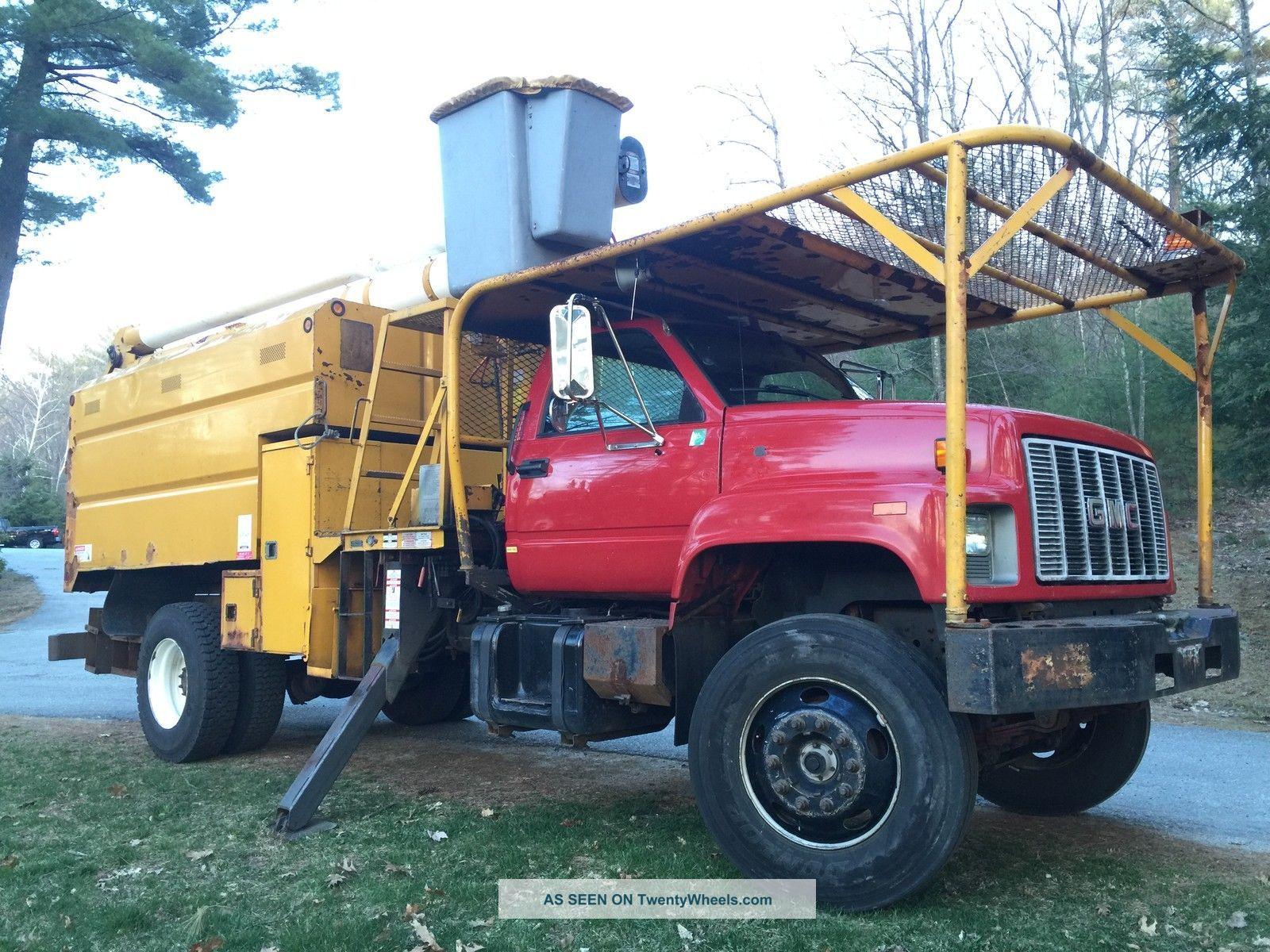 1999 Gmc C7500 Bucket / Boom Trucks photo