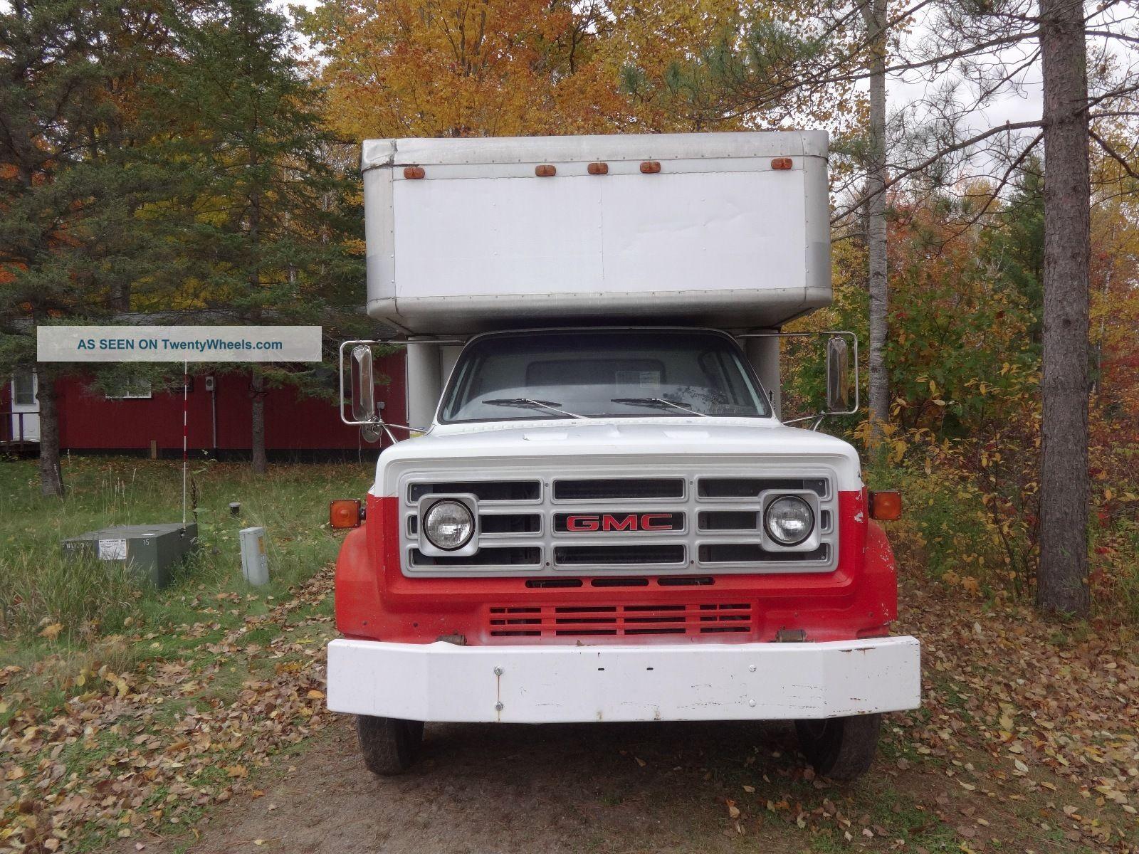 1989 Gmc 6000 Box Trucks / Cube Vans photo