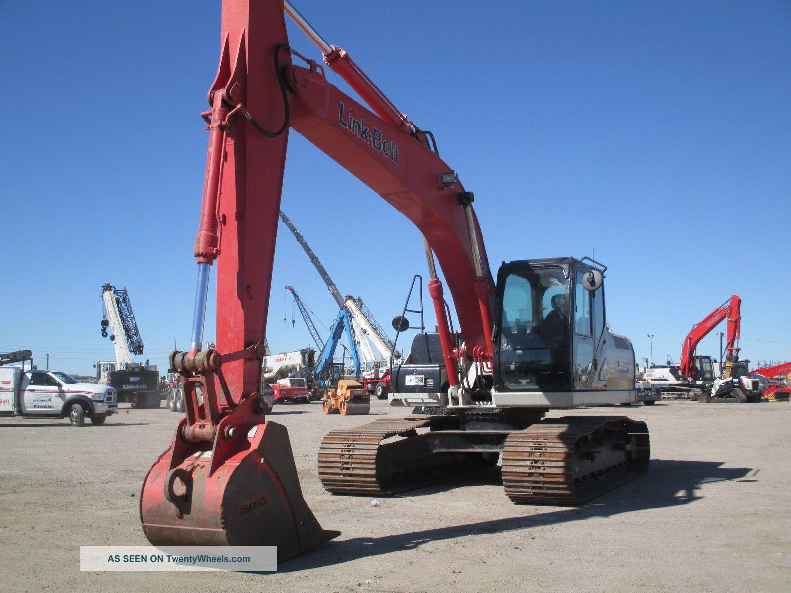 2012 Lbx 210x3 Excavator