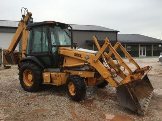 1999 Case 580l 4x4 Backhoe photo