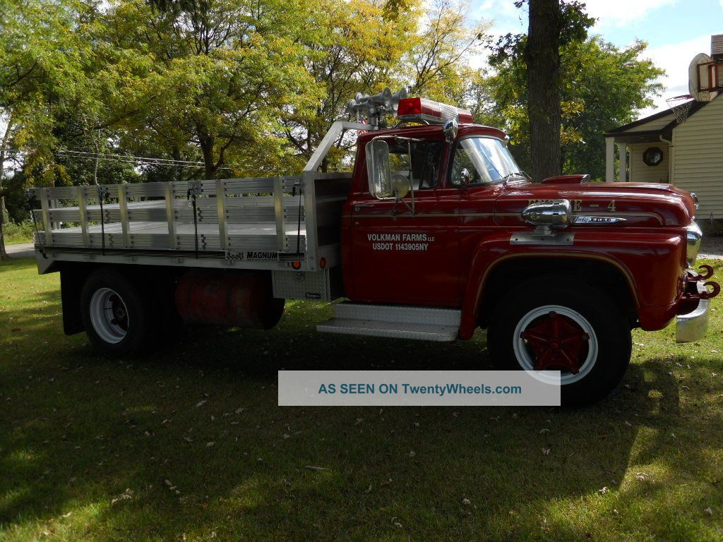 1958 Ford F850
