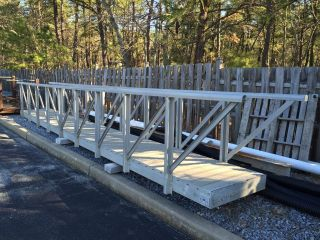 27 ' Aluminum Boat Ramp Euc photo