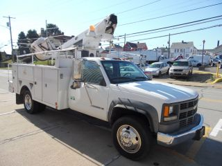 2001 Chevrolet C - 3500hd Service Bucket Telsta Boom Truck photo