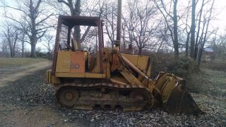 1991 Case 855d Track Loader Only 825 Hrs photo