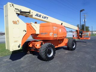 2008 Jlg 800a 80 ' Knuckle Boom Lift Manlift Man Lift Aerial Articulated Boomlift photo