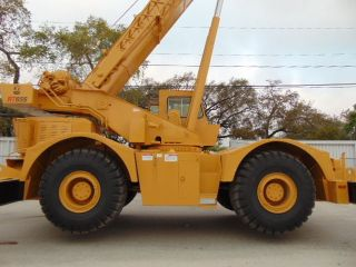 Grove Rt - 65s Rough Terrain 35 Ton Crane 110 ' Plus 32 ' Jib - Power Boom 4x4x4 photo