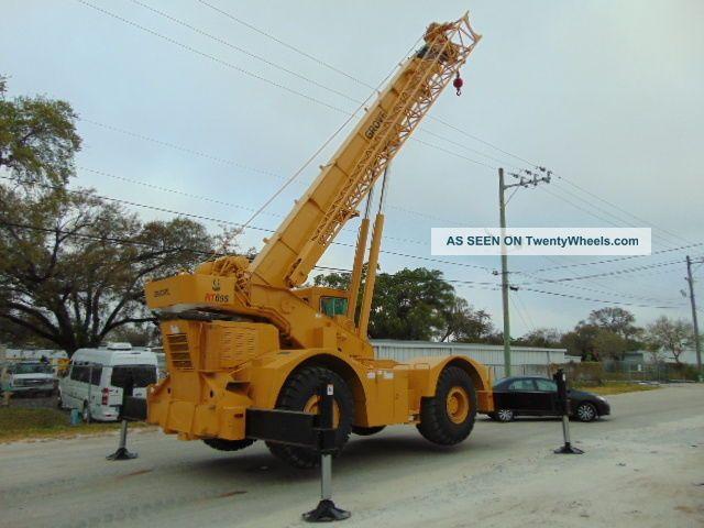 Power Wheels Crane : Grove rt s rough terrain ton crane  plus