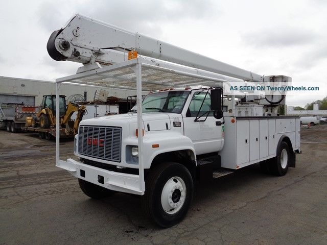 1998 Gmc 7500 Bucket Boom Truck Bucket / Boom Trucks photo