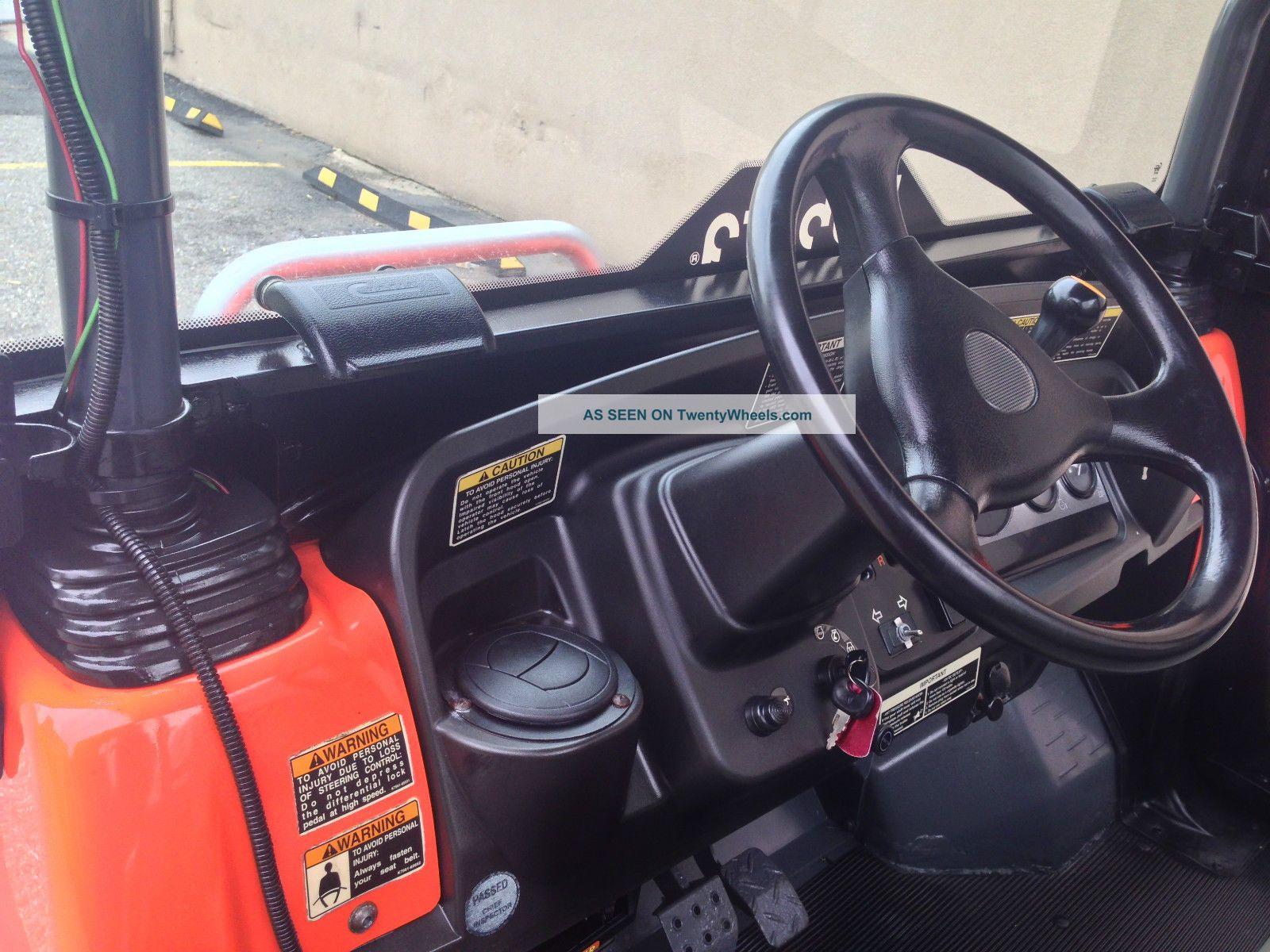 Kubota Rtv900 4x4 Diesel, Full Cab, Heater, Hydrostatic