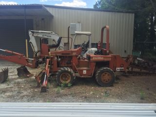 Ditch Witch 4010 Ride On Trencher photo