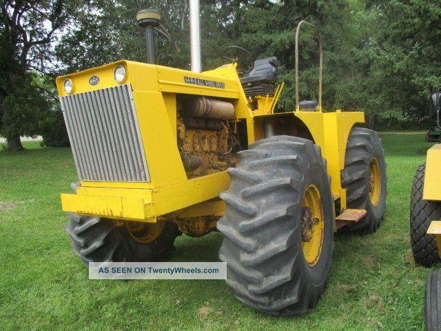 Case Tractors Four Wheel Drive : Mrs tractor all wheel drive model a ih farmall