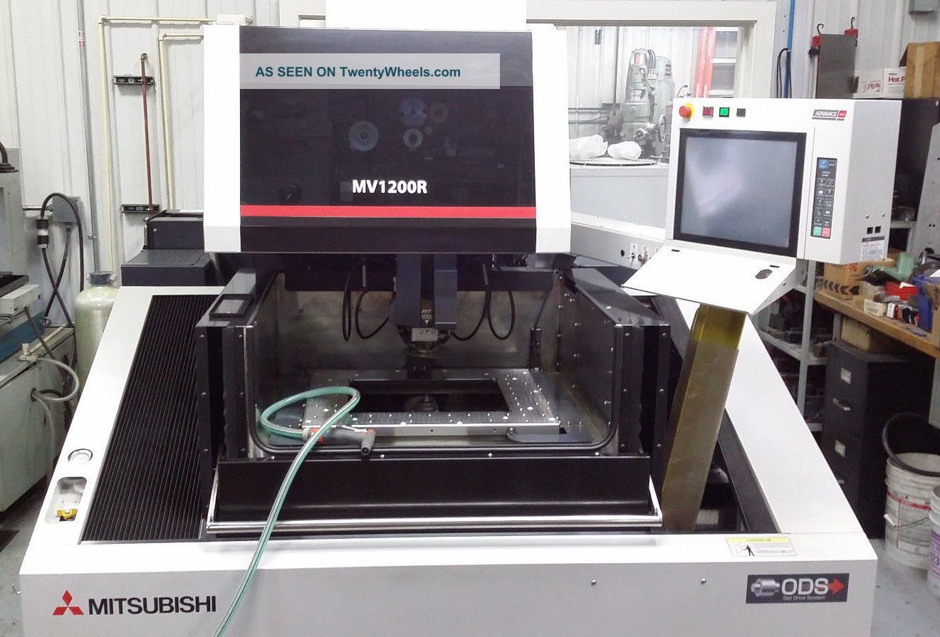 Mitsubishi Mv - 1200r Wire Edm (september 2012) Excellent - 3,  800 Machining Hours EDM Machines photo