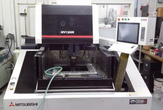 Mitsubishi Mv - 1200r Wire Edm (september 2012) Excellent - 3,  800 Machining Hours photo