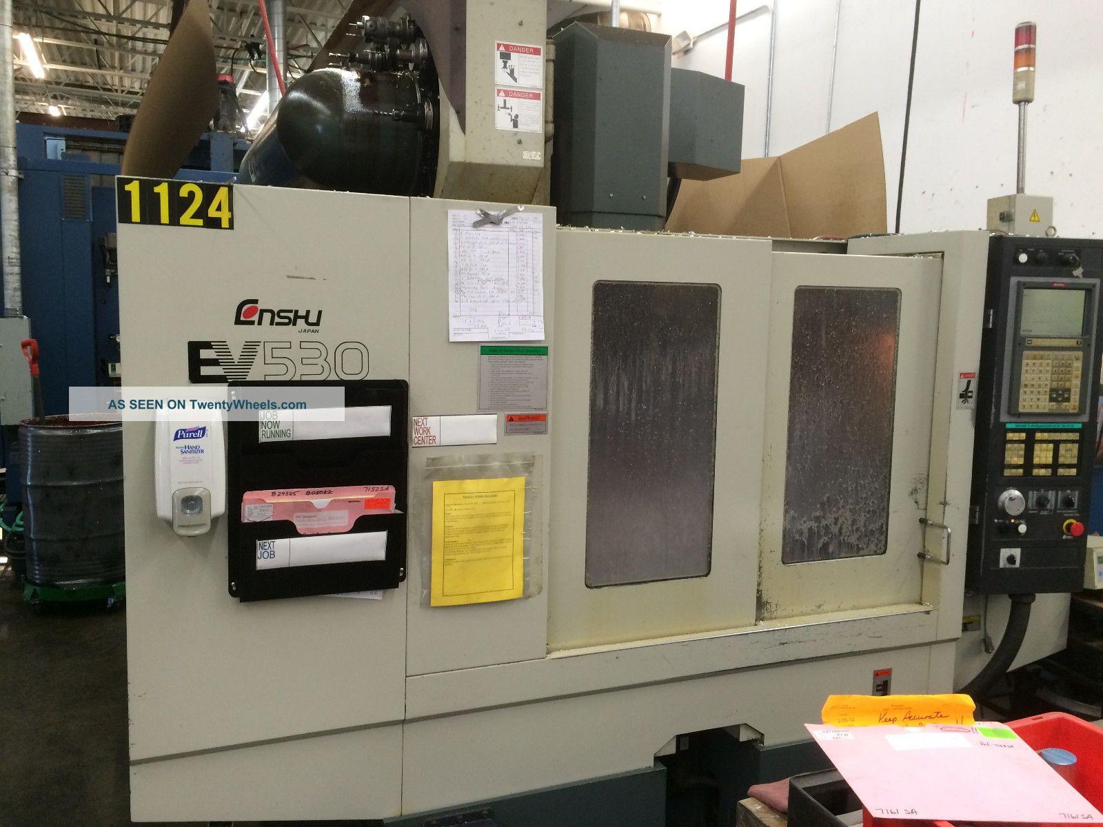Enshu Ev530 Vertical Machining Center (2000) Milling Machines photo