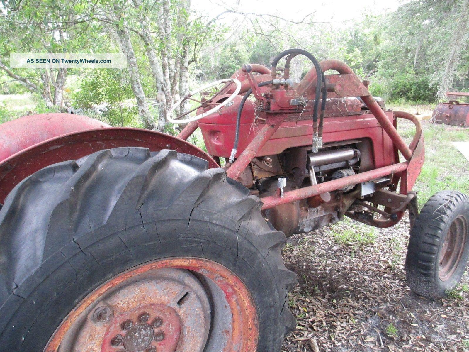 Massey Ferguson Mf 50 : Massey ferguson tractor mf and implements