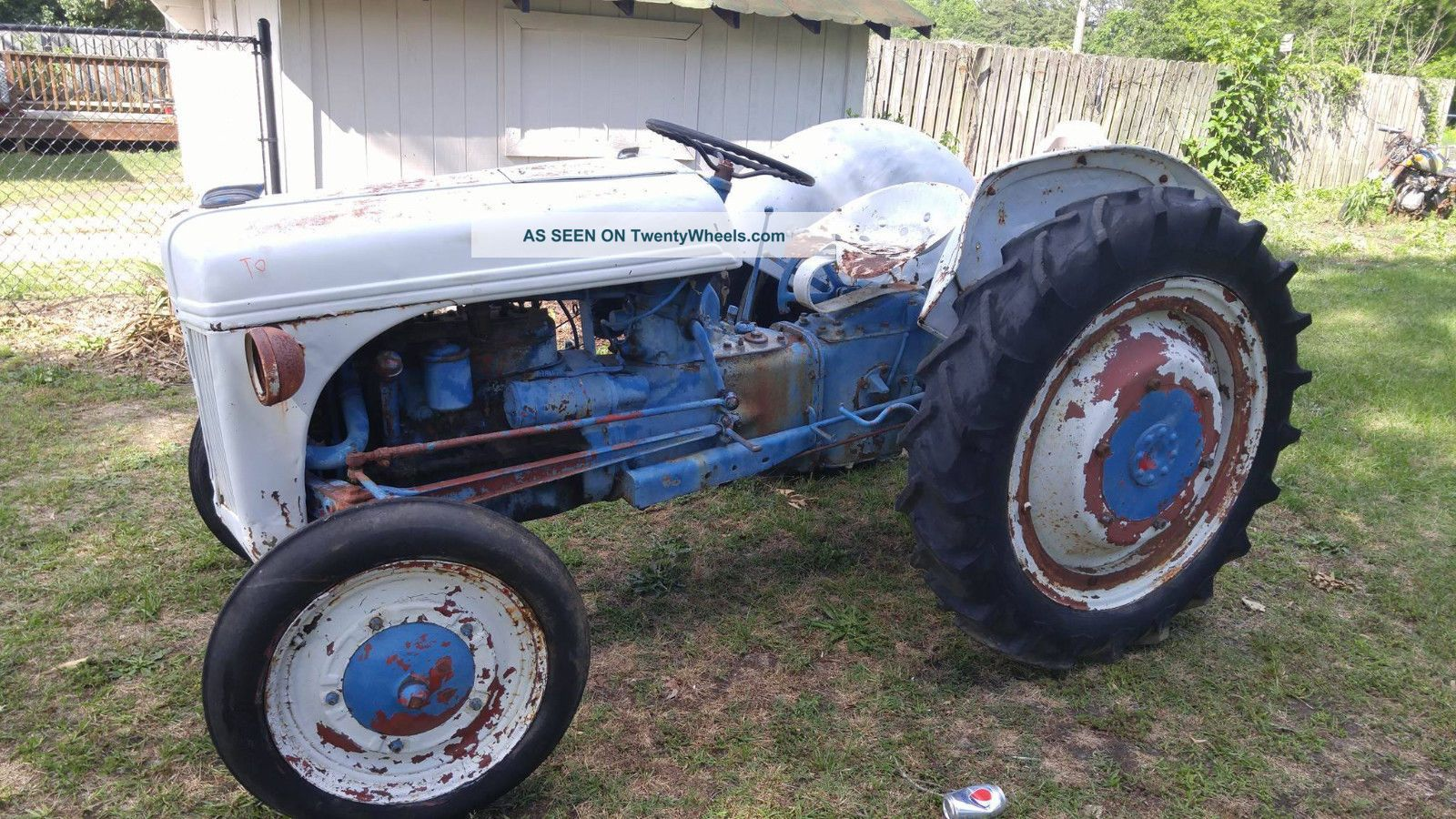 1941 Ford 9n Tractor : Ford n vintage antique farm tractor equipment
