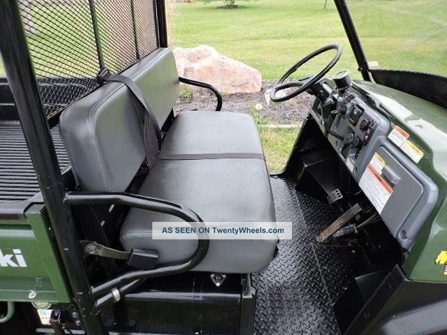 Kawasaki Mule 3010 Diesel 4x4 Utv Side By Side Dump Bed 3