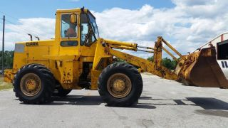 Clark Michigan Volvo 55c Articulating 4wd Wheel Loader - Finance Available. . . photo