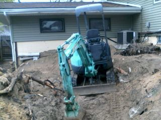 Kobelco Mini Excavator photo