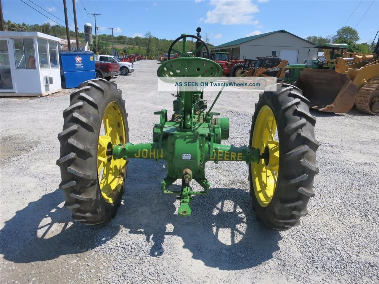 Farm Tractor Pto Accidents : John deere unstyled b antique tractor gas pto good