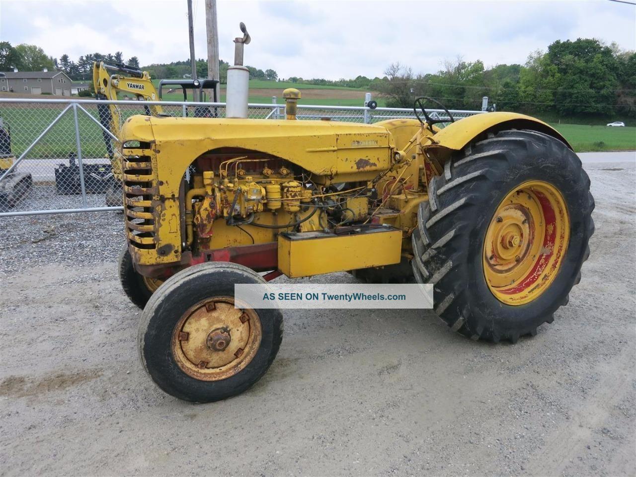 Farm Machinery Belts : Massey harris tractor wide front hp diesel belt pulley hours