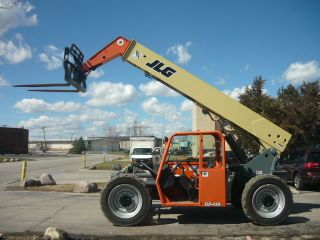 2012 Jlg G9 - 43a Reach Forklift Telehandler Telescopic Serviced Reachlift Tl943 photo