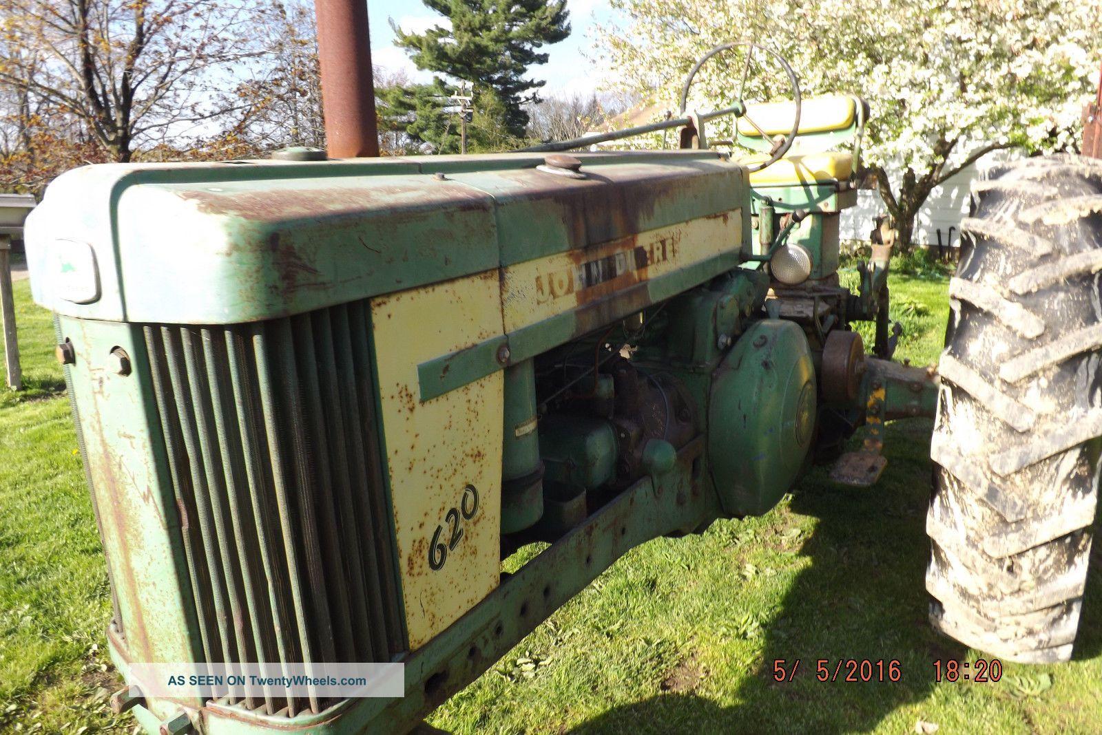 Three Point Hitch John Deere 60 : John deere gas tractor power steering pt