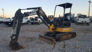 2011 John Deere 27d Mini Excavator Small Excavator photo