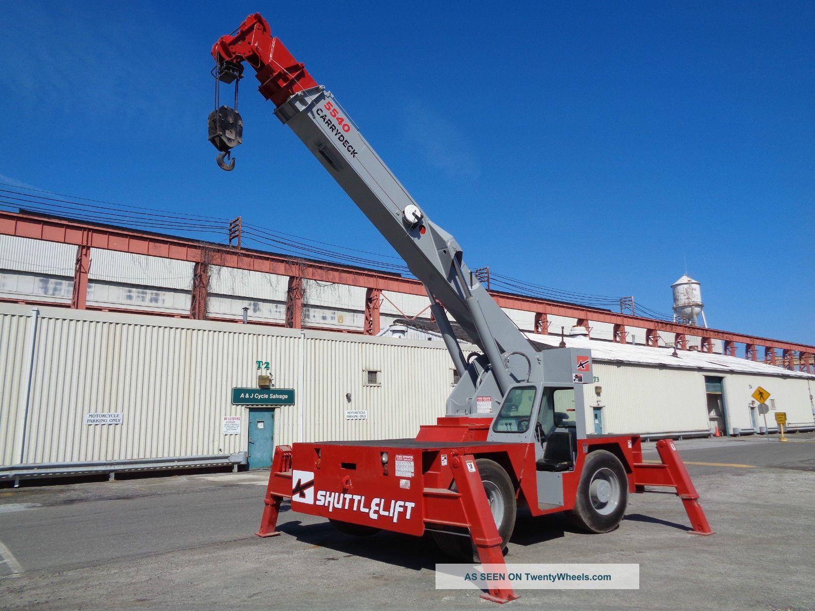 Tractor Hydraulic Boom Crane : Shuttlelift carry deck hydraulic crane ton