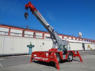 Shuttlelift 5540 Carry Deck Hydraulic Crane - 15 Ton - 40ft Boom - 2 Available photo
