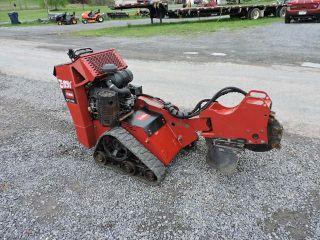 2011 Toro Stx - 26 Rubber Track Stump Grinder Carbide Teeth Kawasaki Walk Behind photo