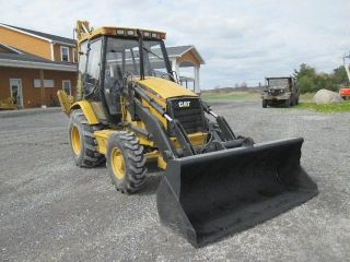 Cat 426c Farm Tractor Loader Backhoe photo
