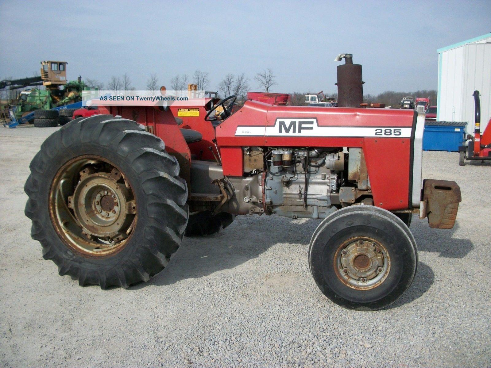 Massey Ferguson 285 Tractor Information : Massey ferguson tractor wd pto horsepower