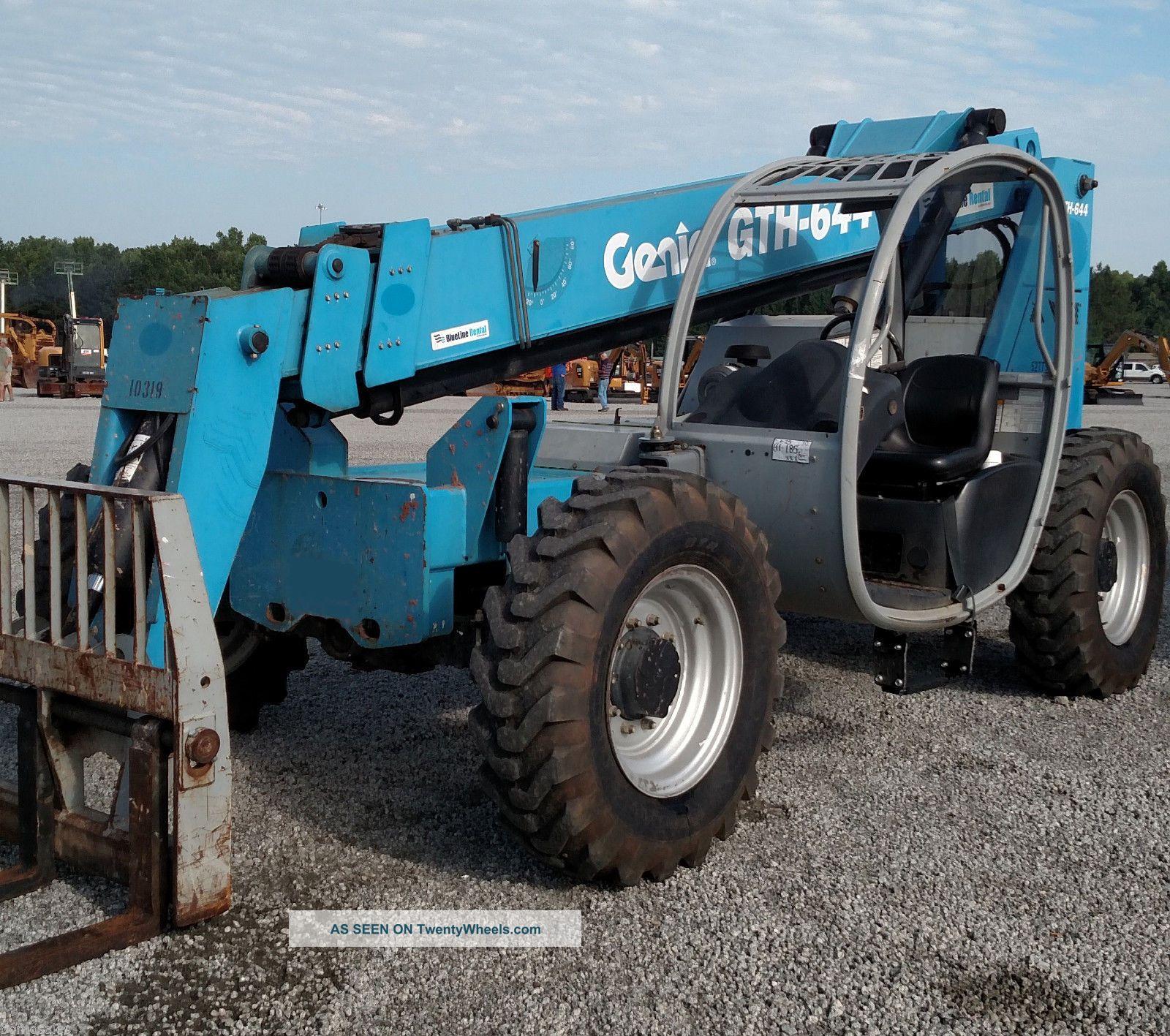2006 Genie Gth 644 Telescoping Forklift