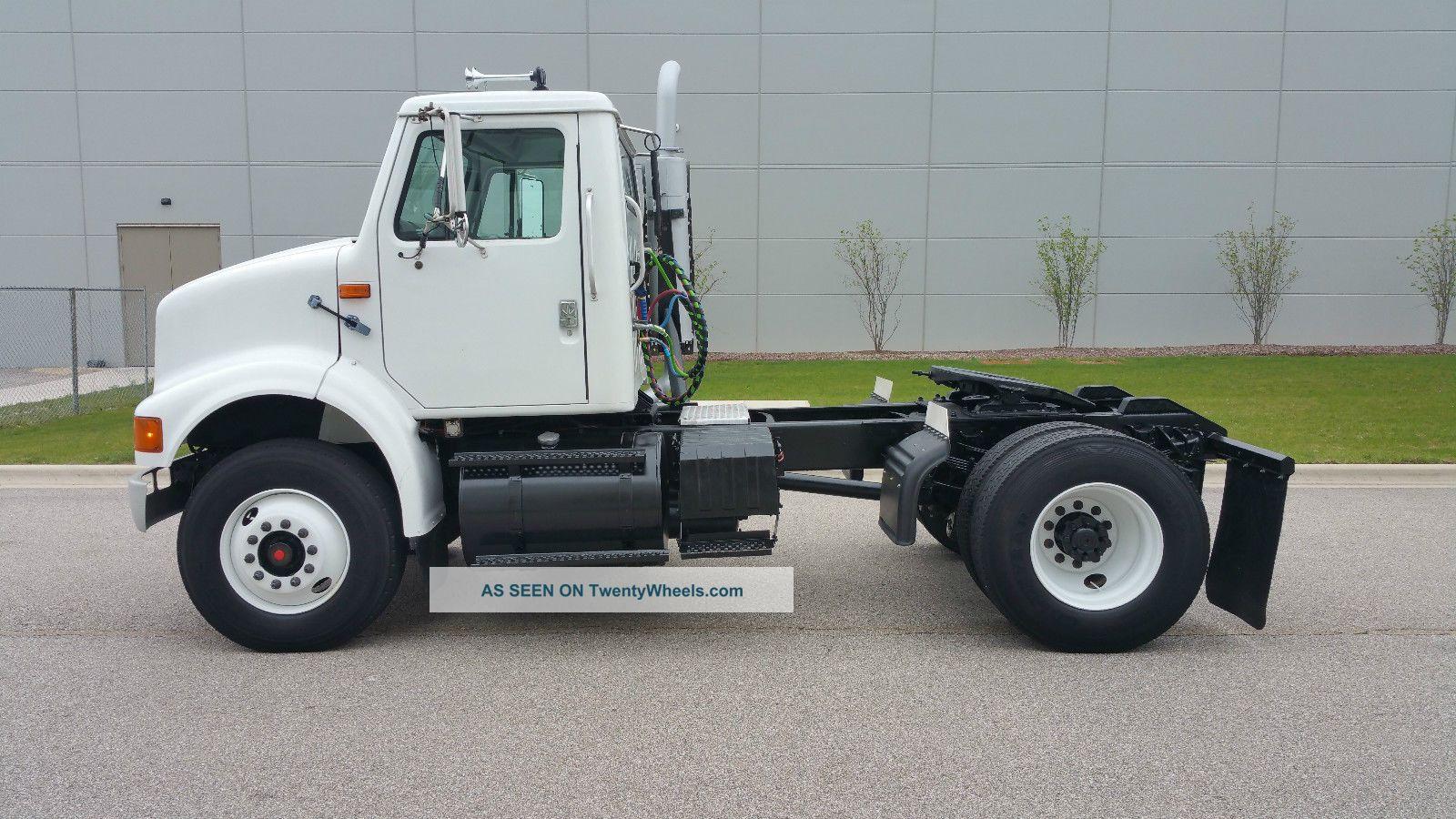 Single Axle Semi Tractors : International single axle day cab semi tractor no