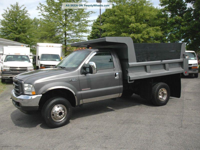 2004 ford xl f350 dump truck. Black Bedroom Furniture Sets. Home Design Ideas