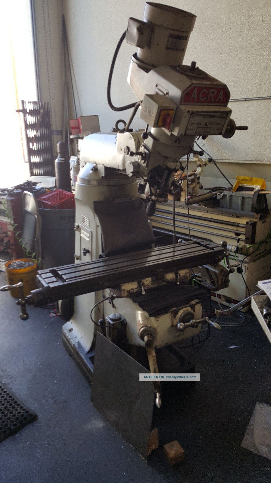 Acra Variable Speed Milling Machine (read Details) Milling Machines photo