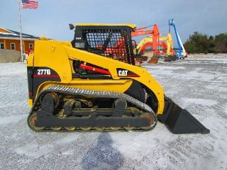 Cat 277b Farm Skid Steer Loader photo