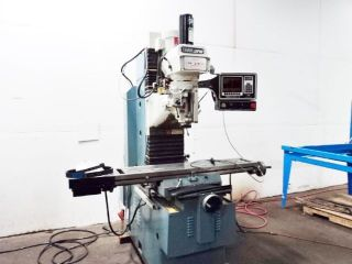 Dpm S.  W.  I.  Trak Three - Axis Cnc Vertical Bed Mill Milling Machine Bridgeport photo