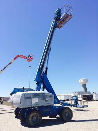 2006 Genie S - 60 Boom Lift 4wd Diesel Telescopic Boom Man Aerial Platfrom photo